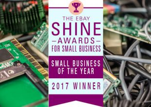 Winner of Ebay Shine Awards For Small Business