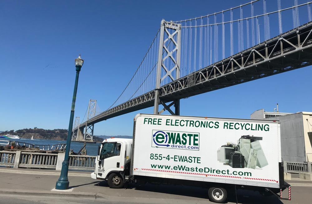 FREE Business eWaste Recycling Pick-up Request - eWaste Direct - Bay ...